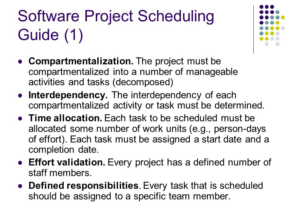 Software Project Scheduling Guide (1)