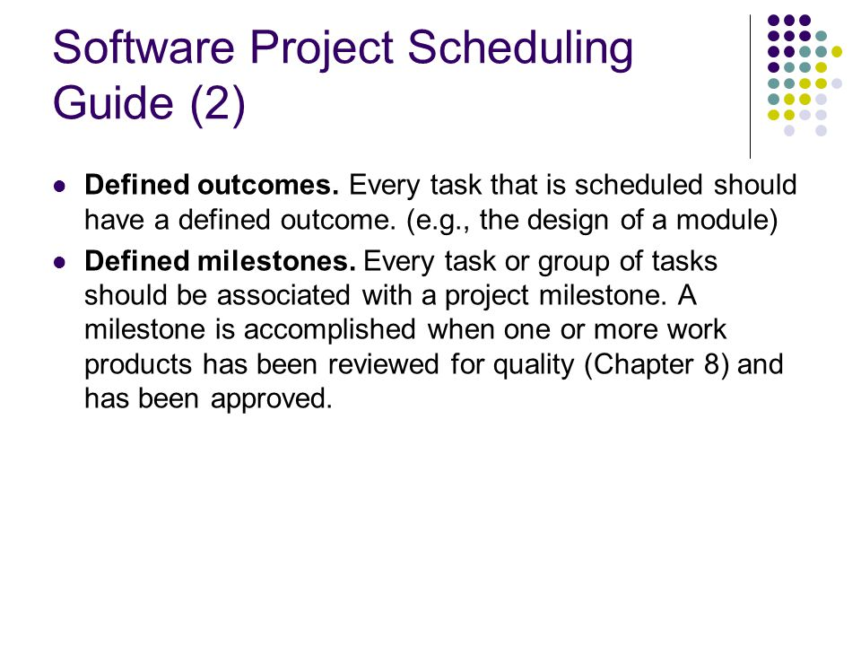 Software Project Scheduling Guide (2)