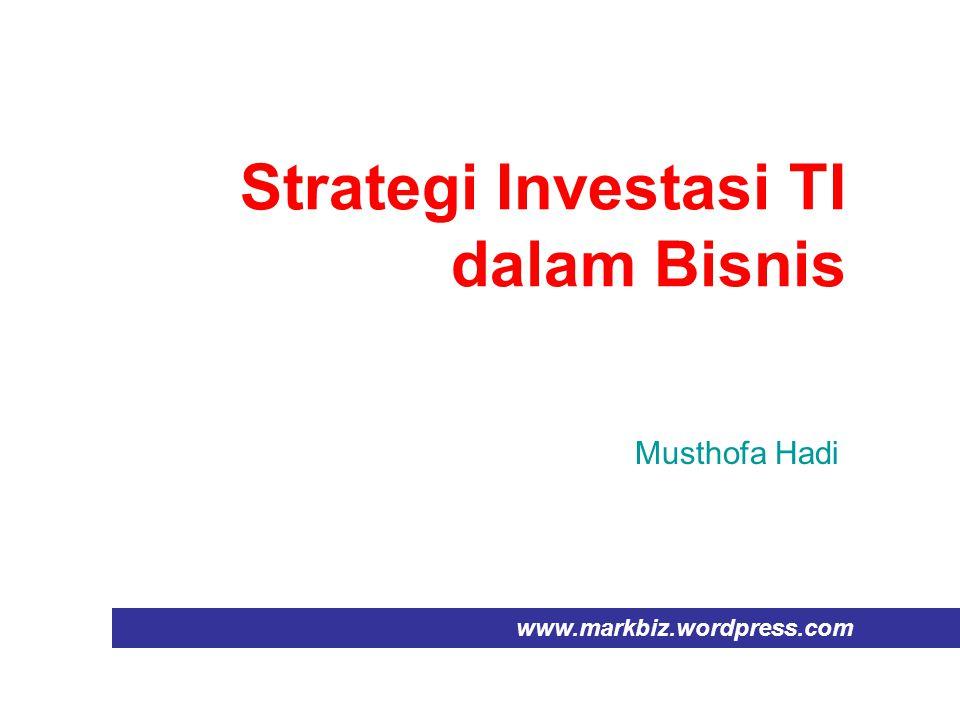 Strategi Investasi TI dalam Bisnis