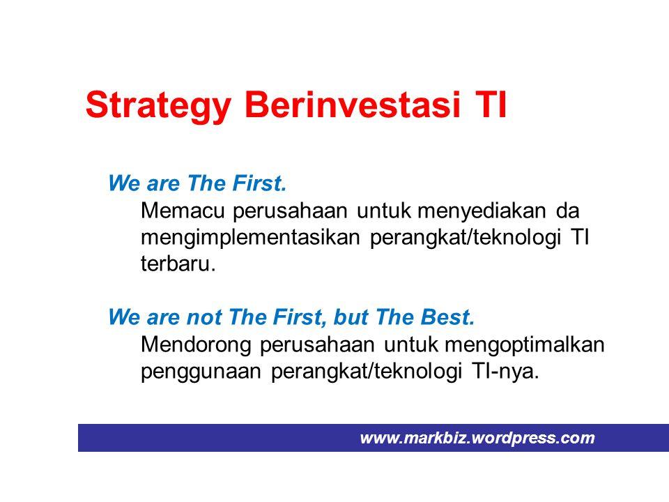 Strategy Berinvestasi TI
