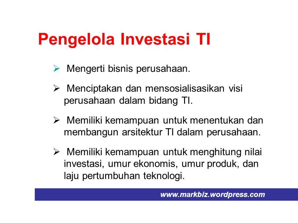 Pengelola Investasi TI