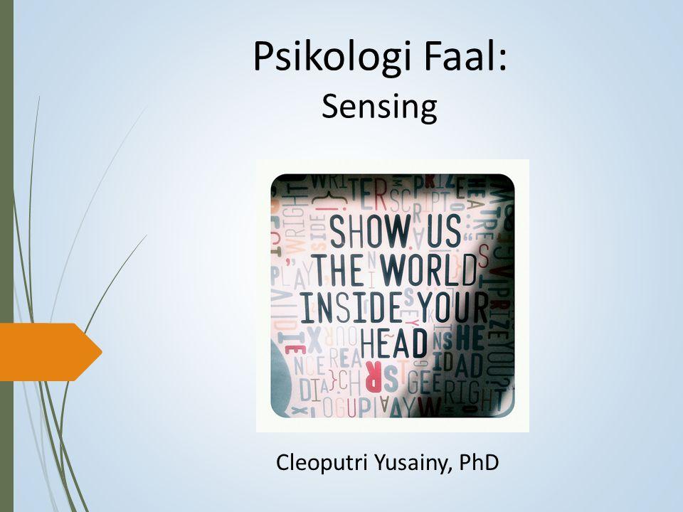 Psikologi Faal: Sensing