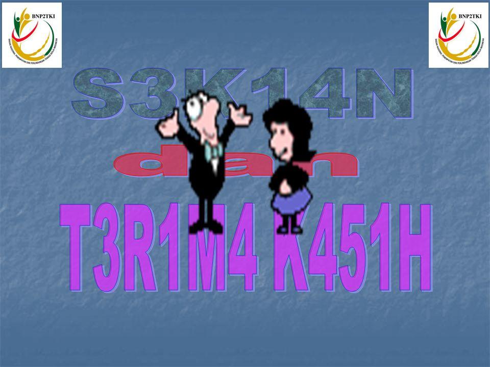 S3K14N dan T3R1M4 K451H