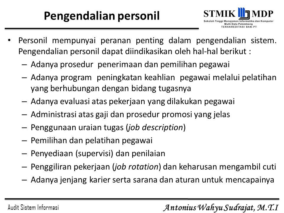 Pengendalian personil