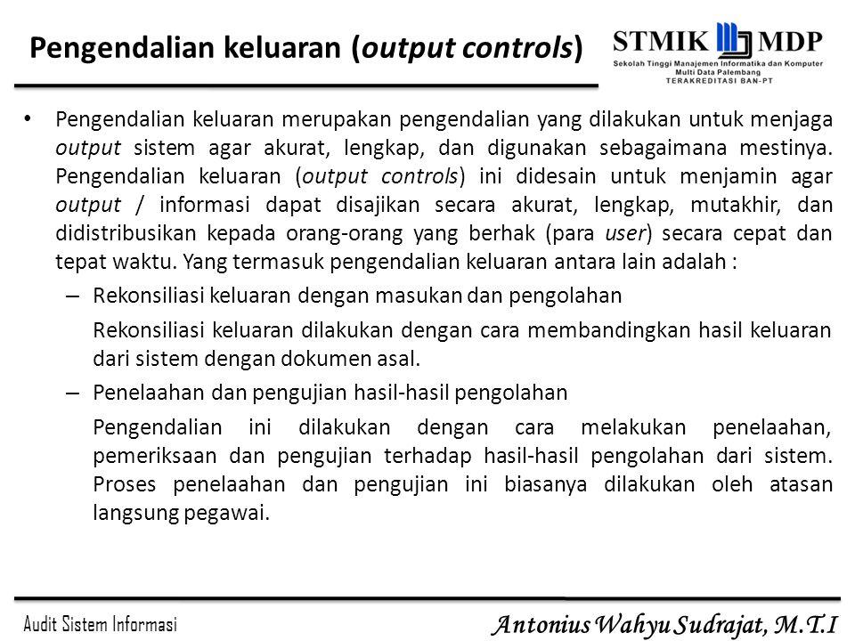 Pengendalian keluaran (output controls)