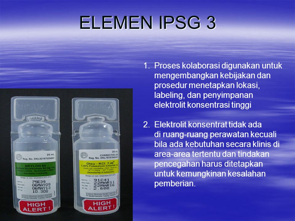 ELEMEN IPSG 3 Proses kolaborasi digunakan untuk