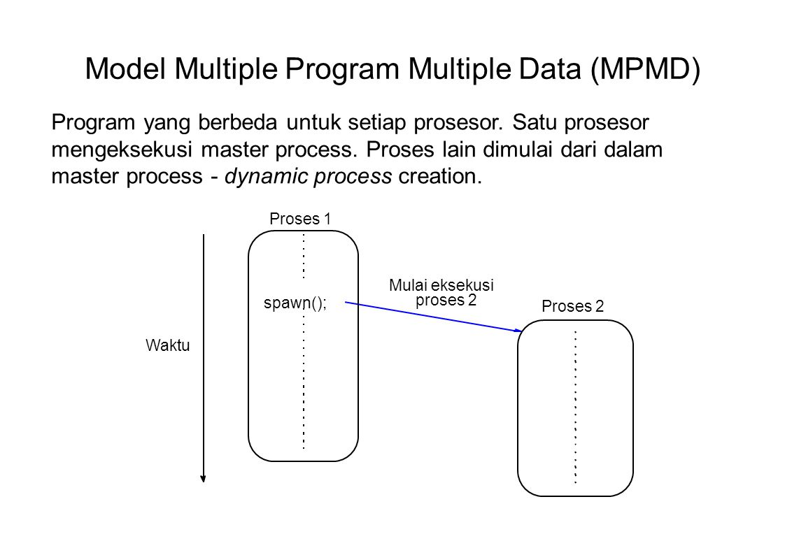Model Multiple Program Multiple Data (MPMD)