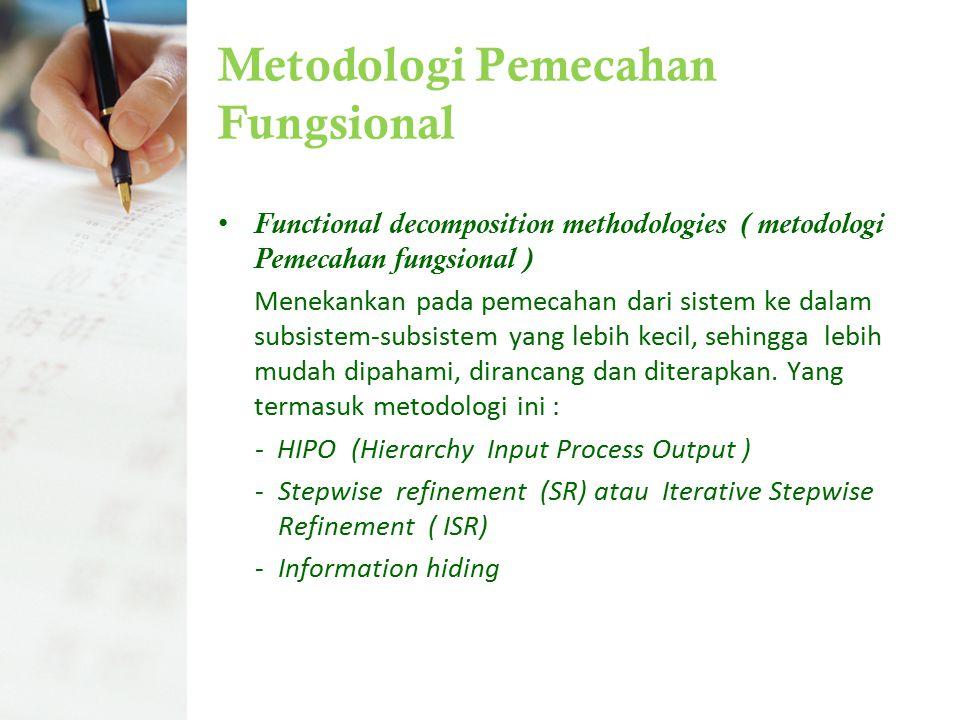 Metodologi Pemecahan Fungsional