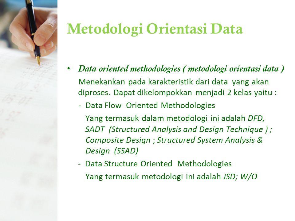 Metodologi Orientasi Data