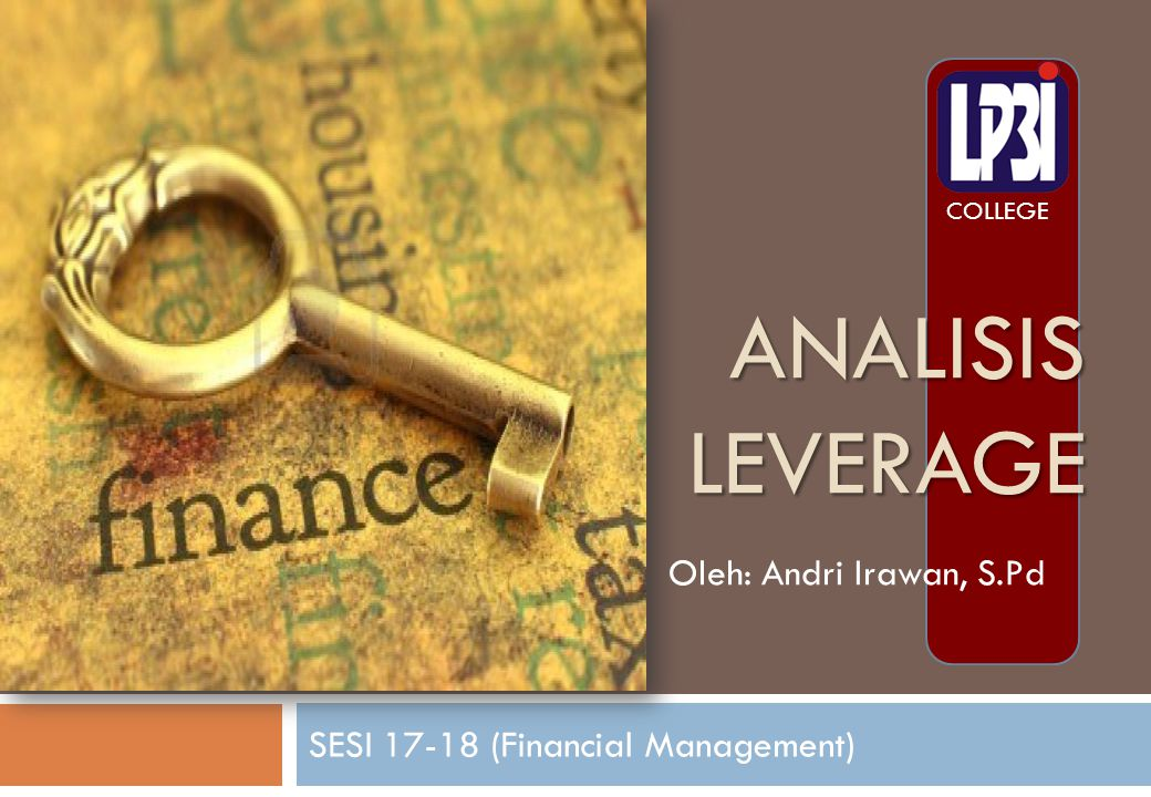 SESI 17-18 (Financial Management)