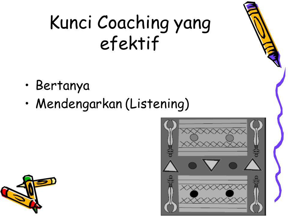 Kunci Coaching yang efektif