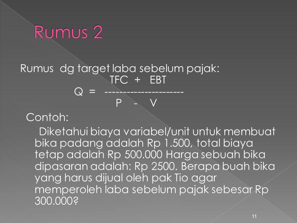 Rumus 2