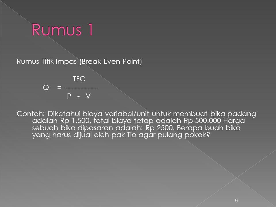 Rumus 1