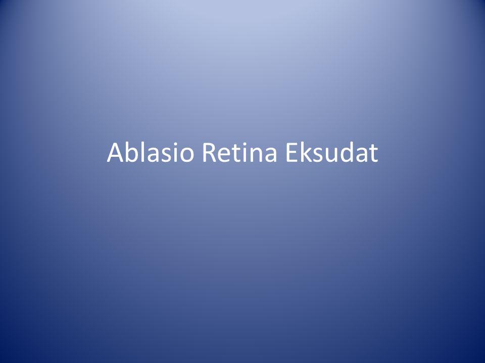 Ablasio Retina Eksudat