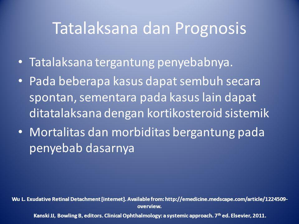 Tatalaksana dan Prognosis