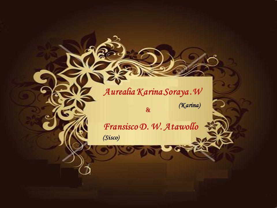 Aurealia Karina Soraya .W