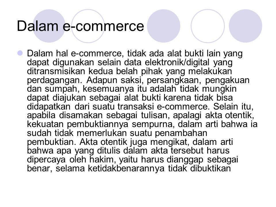 Dalam e-commerce