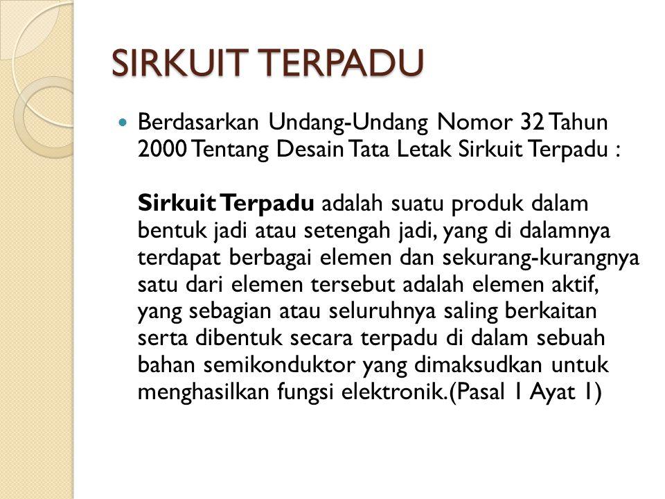 SIRKUIT TERPADU