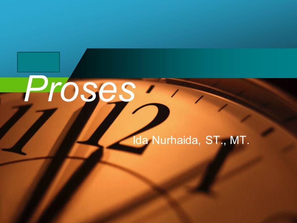 Proses Ida Nurhaida, ST., MT.