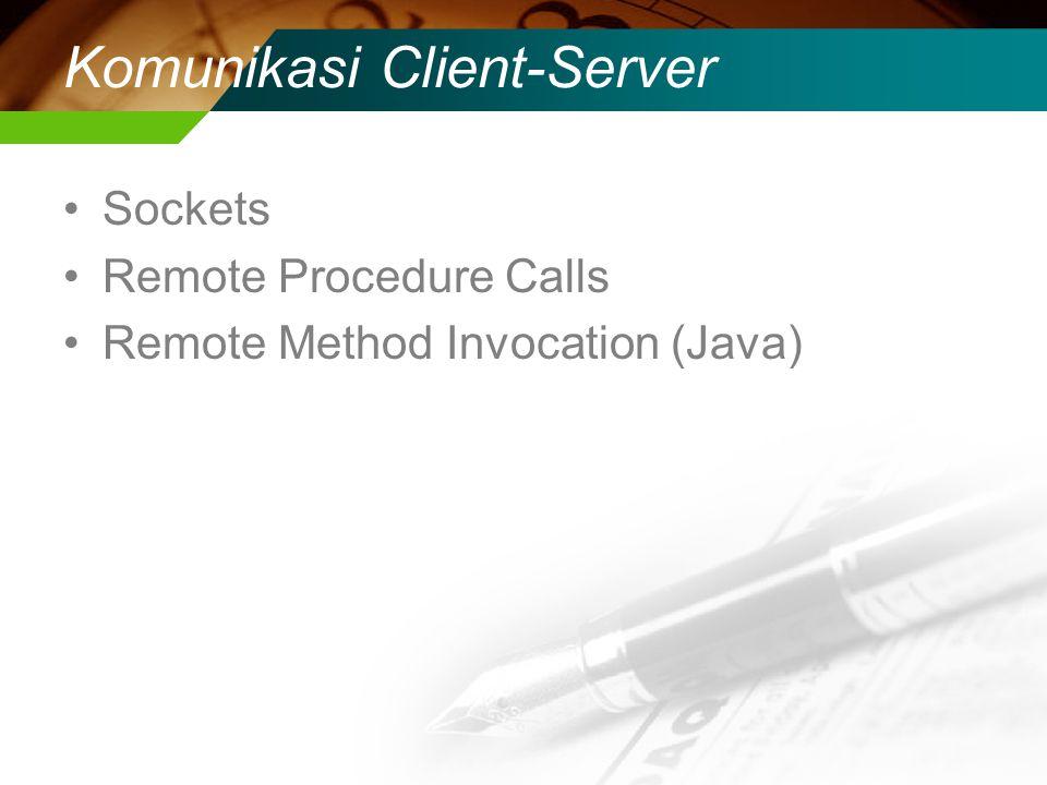 Komunikasi Client-Server