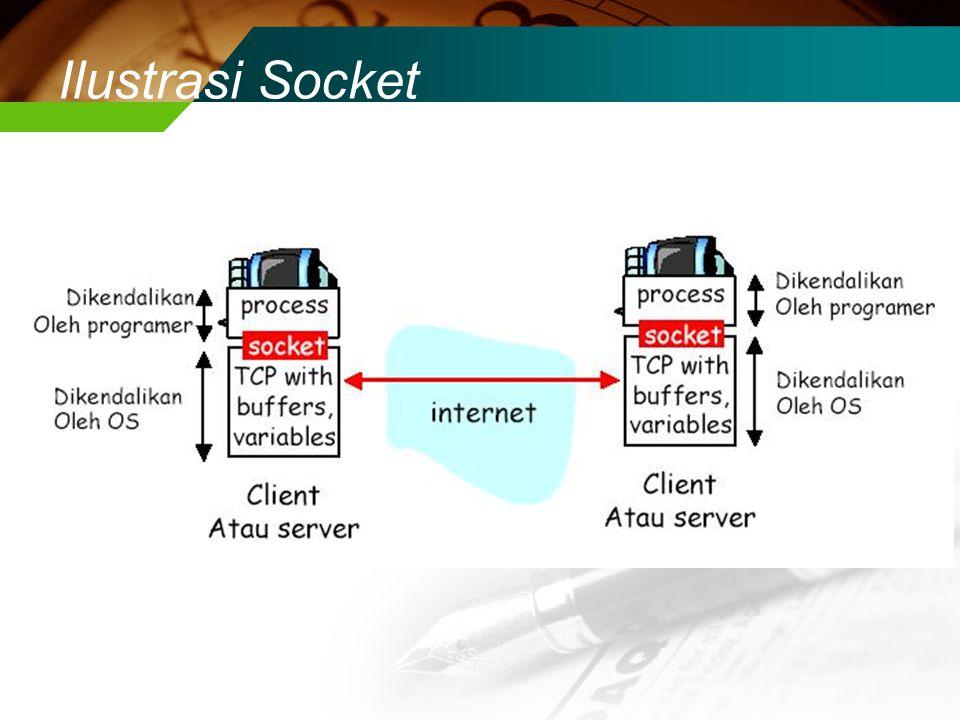 Ilustrasi Socket