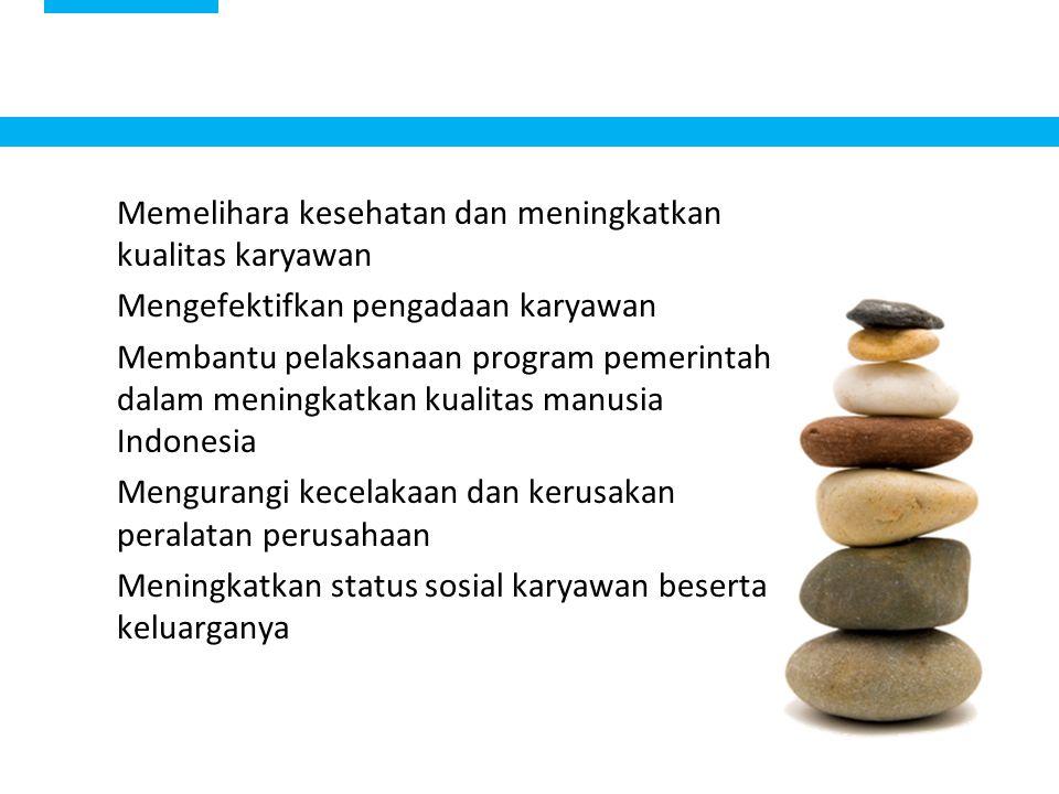 Memelihara kesehatan dan meningkatkan kualitas karyawan