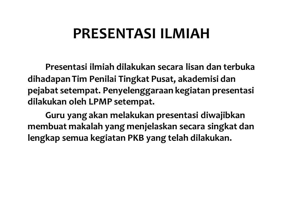PRESENTASI ILMIAH
