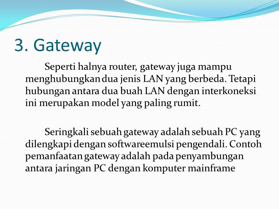3. Gateway