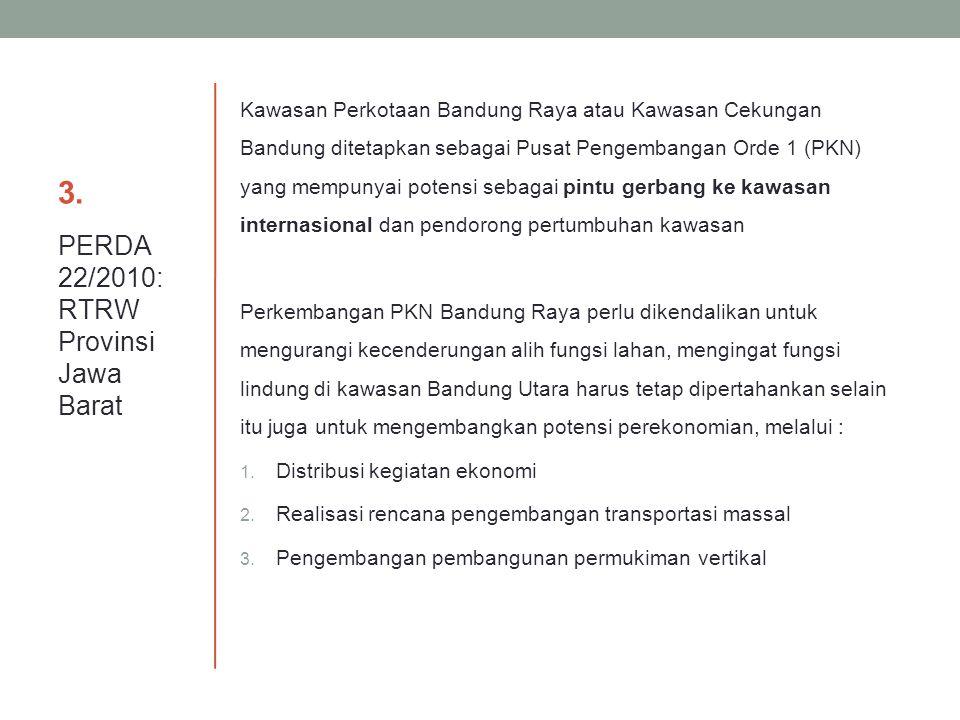 3. PERDA 22/2010: RTRW Provinsi Jawa Barat