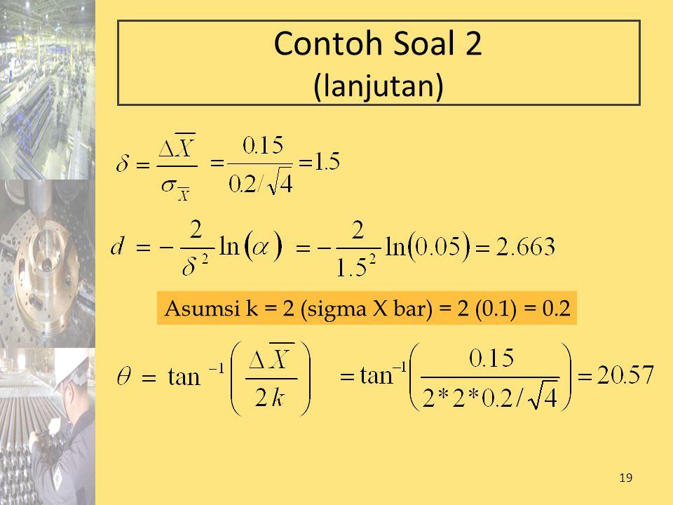 Contoh Soal 2 (lanjutan)