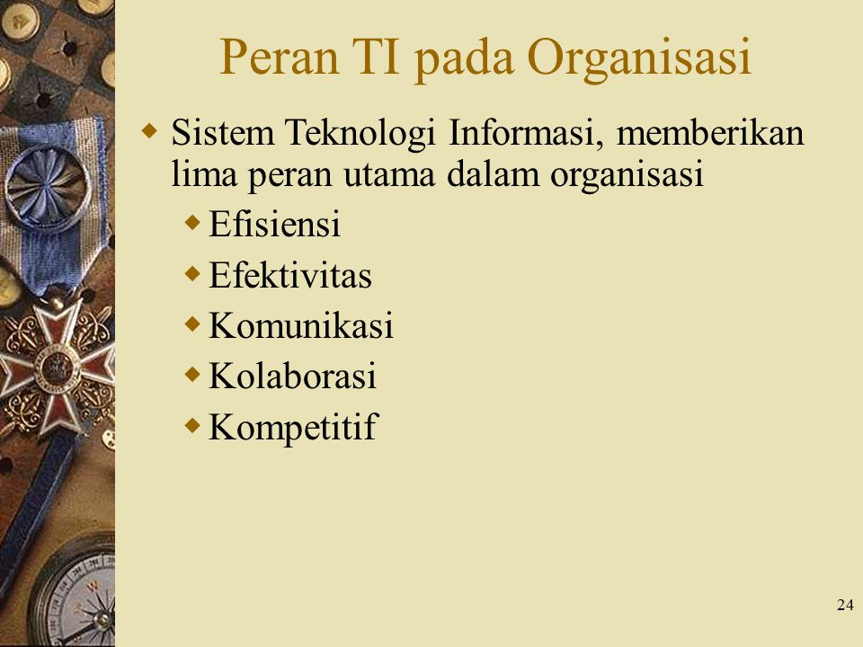 Peran TI pada Organisasi