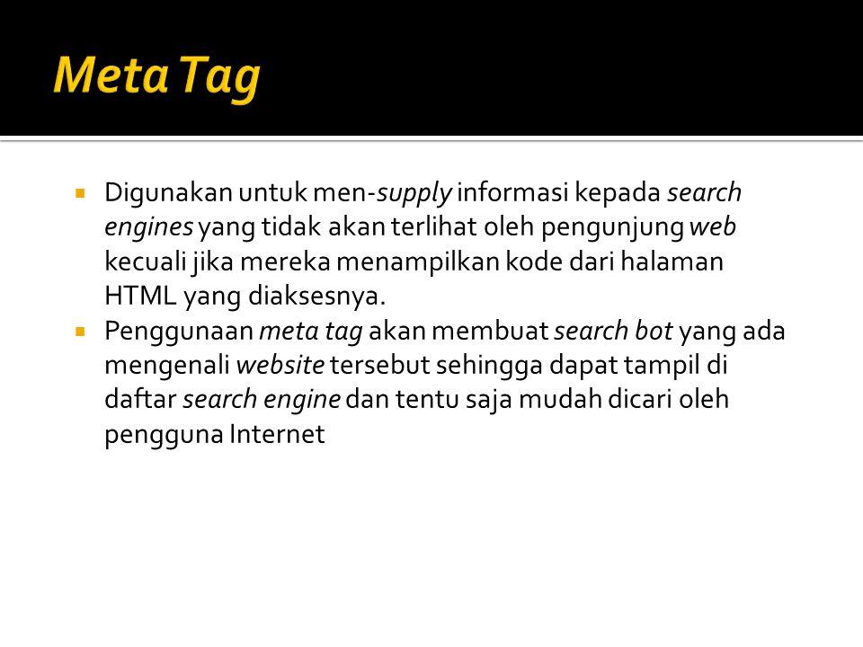 Meta Tag