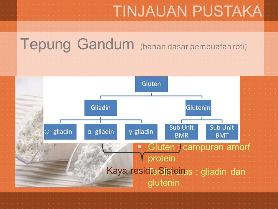 Tepung Gandum (bahan dasar pembuatan roti)