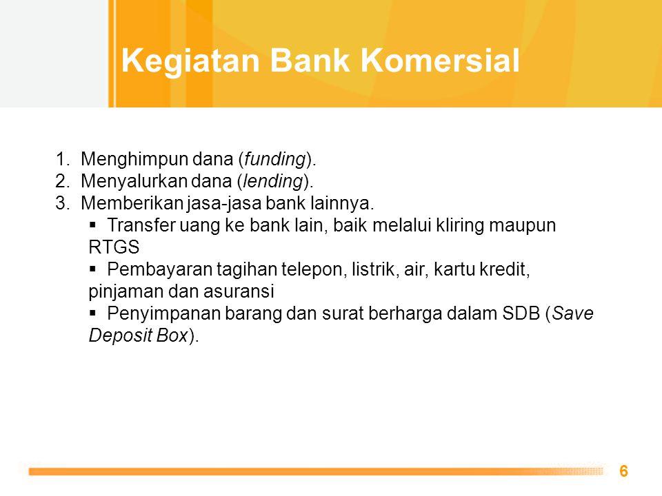 Kegiatan Bank Komersial