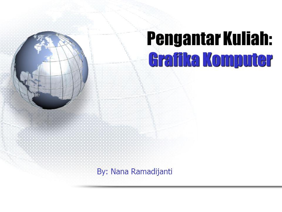 Pengantar Kuliah: Grafika Komputer