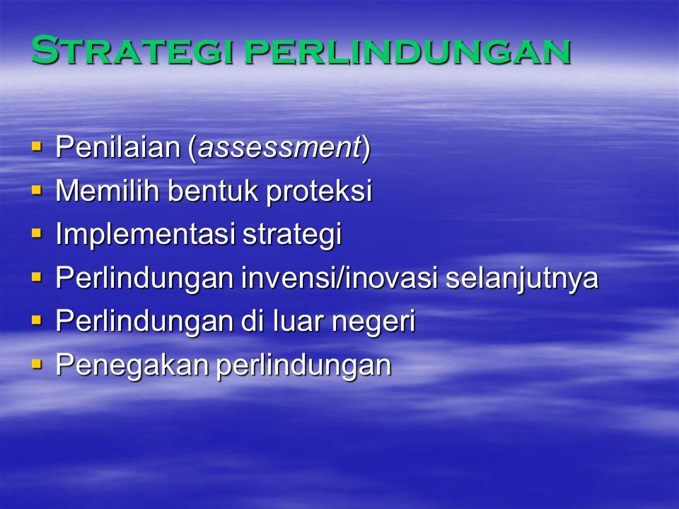 Strategi perlindungan