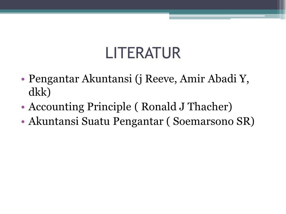 LITERATUR Pengantar Akuntansi (j Reeve, Amir Abadi Y, dkk)