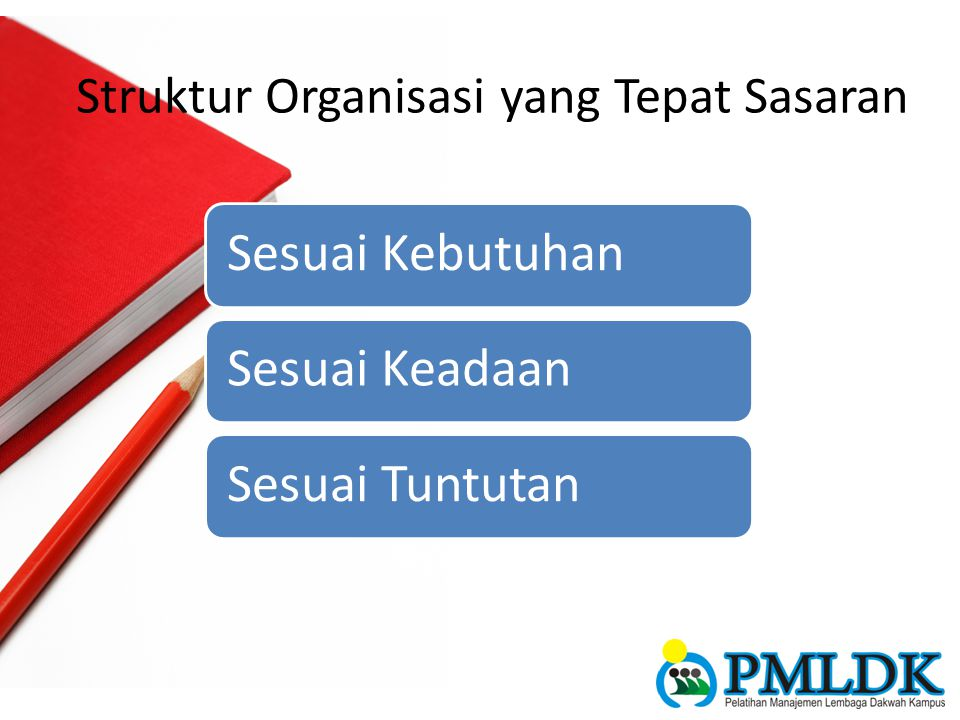 Struktur Organisasi yang Tepat Sasaran