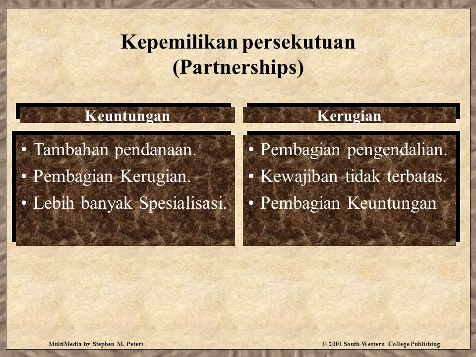 Kepemilikan persekutuan (Partnerships)