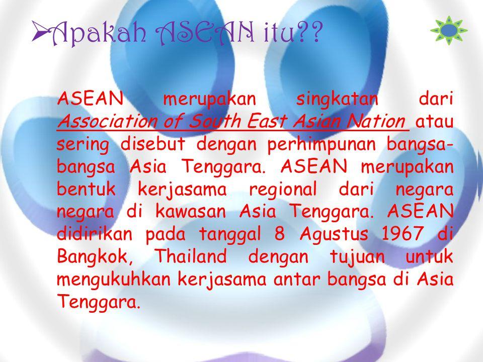 Apakah ASEAN itu