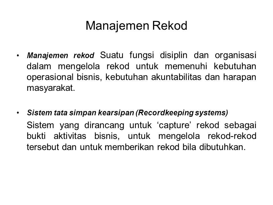 Manajemen Rekod