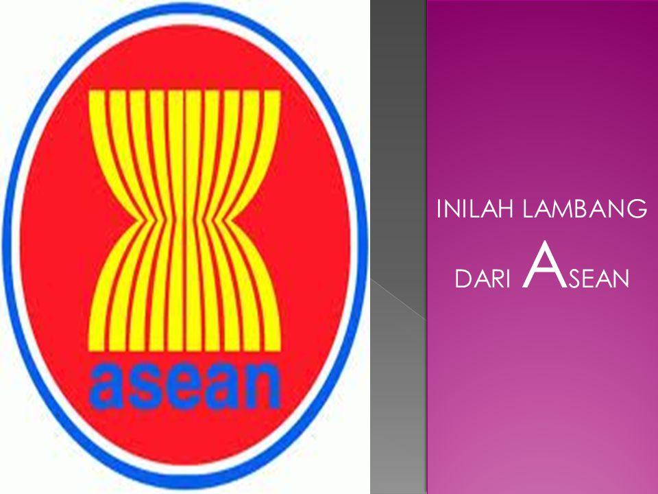 INILAH LAMBANG DARI ASEAN