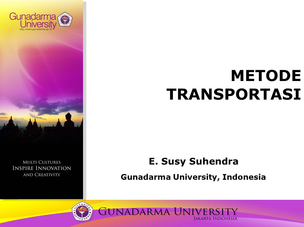 E. Susy Suhendra Gunadarma University, Indonesia