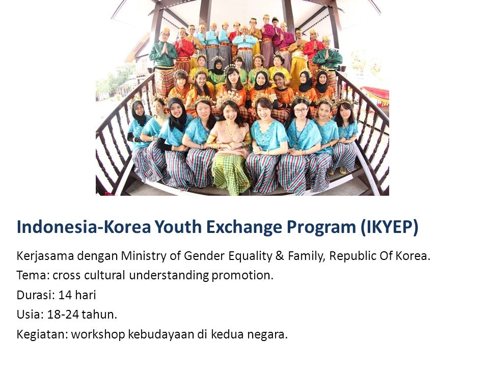 Indonesia-Korea Youth Exchange Program (IKYEP)