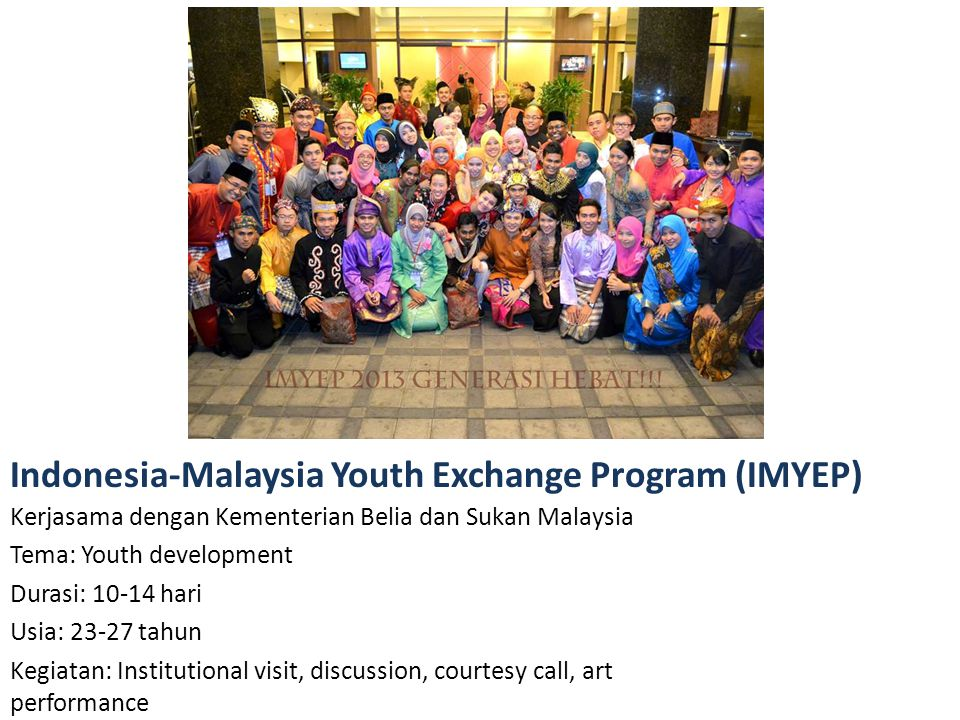 Indonesia-Malaysia Youth Exchange Program (IMYEP)