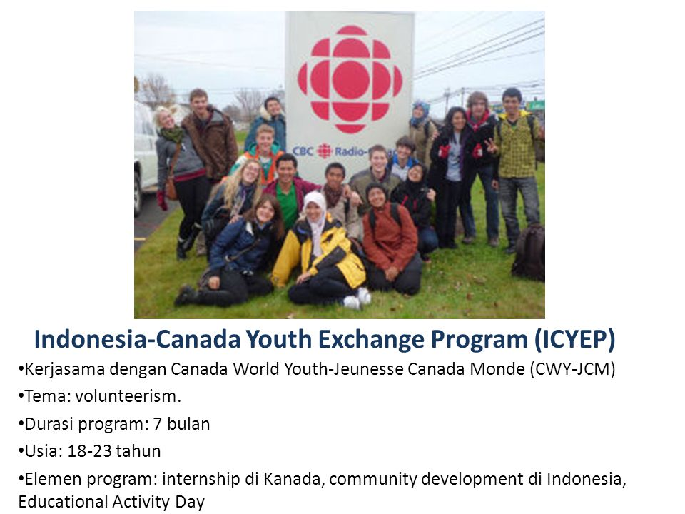 Indonesia-Canada Youth Exchange Program (ICYEP)