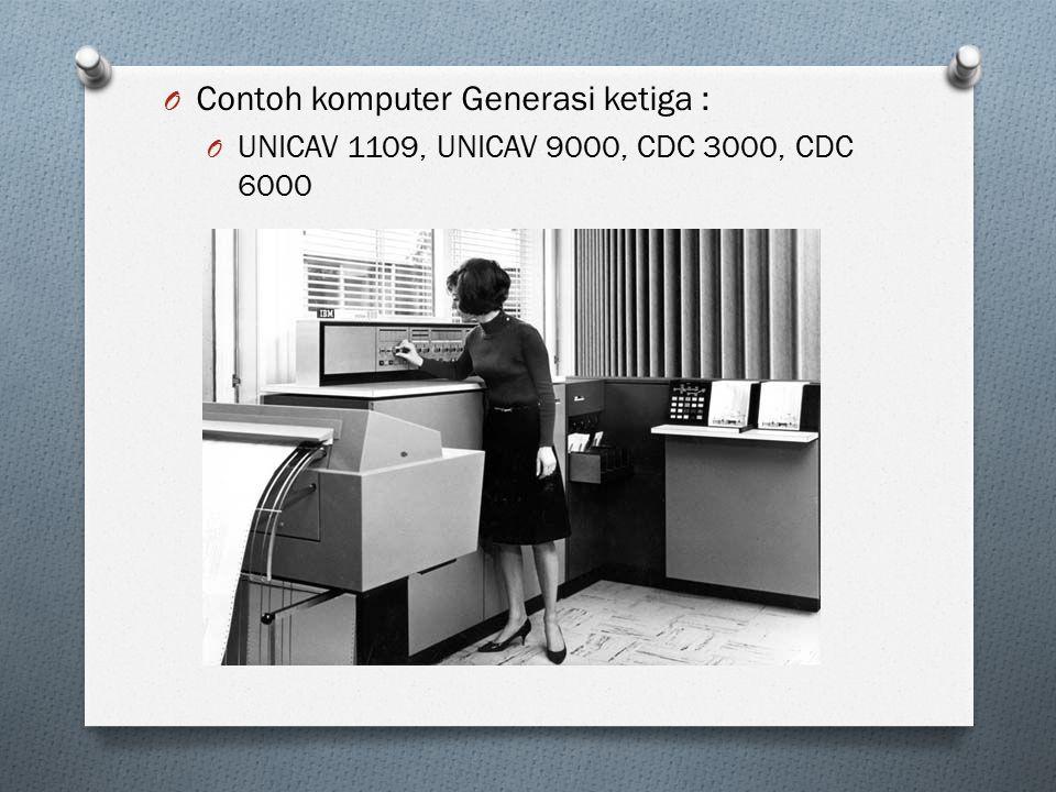 Contoh komputer Generasi ketiga :