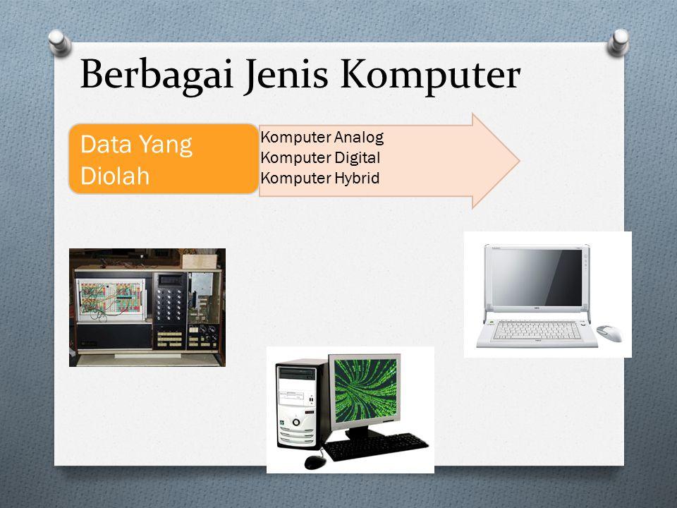 Berbagai Jenis Komputer