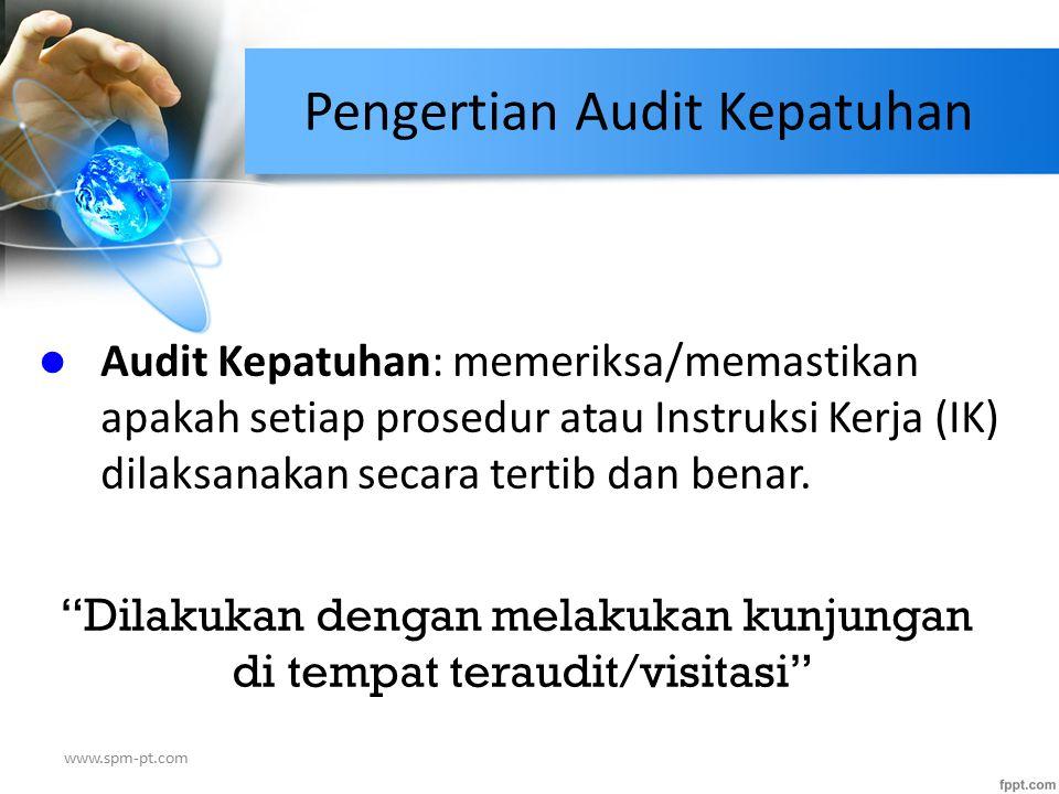 Pengertian Audit Kepatuhan