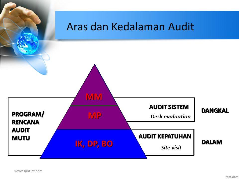 Aras dan Kedalaman Audit